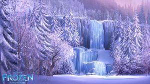 Frozen-Keyscene-Waterfall-Animation-Wallpaper
