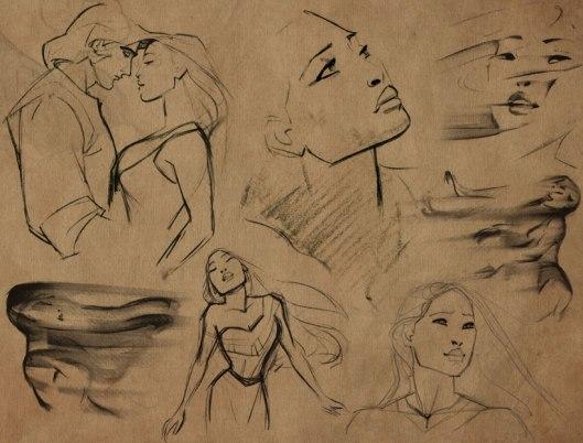 Pocahontas-art