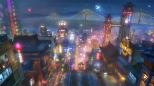disney-big-hero-6-san-fransokyo-nighttime