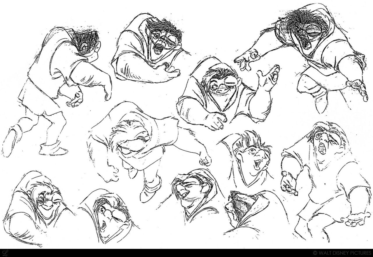 the history and characteristics of quasimodo of the hunchback of notre dame This section refers to the original novel alternative character interpretation: this happens the most to quasimodo and frollo in the book, quasimodo is rather mean and hates most people.