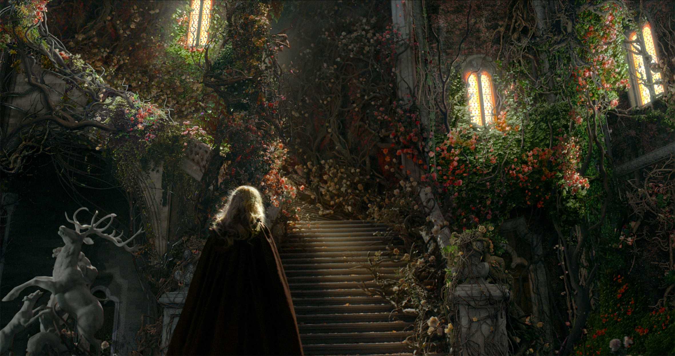 la belle et la b ecirc te beauty and the beast from the flowersstairs