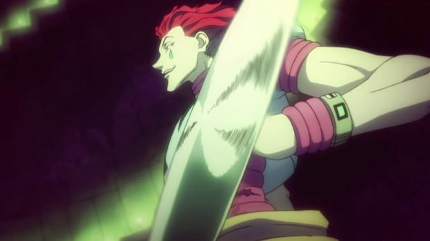 Hisoka_spins_togari's_blade