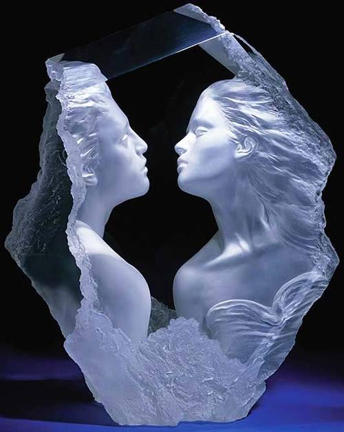 acrylic sculpture michael wilkinson